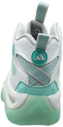 Adidas Crazy 8, Blanc / frozenmint / glacier Grey, 9 M Us WHITE/FROZENMINT/GLACIER GREY