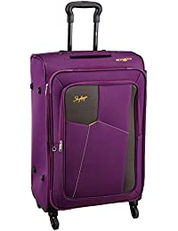 Skybags Rubik Polyester 78 cms Purple Softsided Check-in Luggage (STRUB78EPPL)