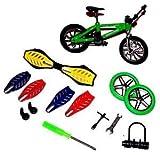 Finger Board Fingerboard & BMX Rad Bike Fingerbike Fingerrad Spielzeug Set NEU