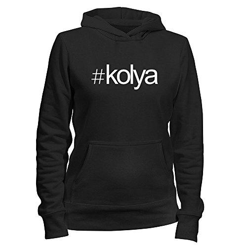 Idakoos EU Hashtag Kolya - Male Names - Women Hoodie