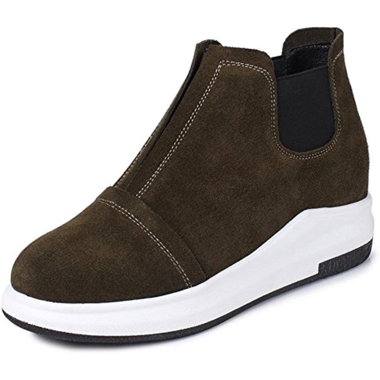 chaussures de sport, chaussures à fond épais chaussures occasionnels chaussures simples chaussures épais ascenseur étudiants Automne... - B073CXHPXM - 598229