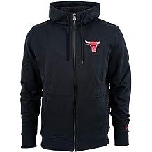 New Era Chicago Bulls Team Apparel - Felpa con Cappuccio e Zip Intera NBA a8a903cecded