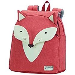 SAMSONITE Happy Sammies - Children Backpack S Cartable, 28 cm, 7.5 liters, Orange (Fox William)