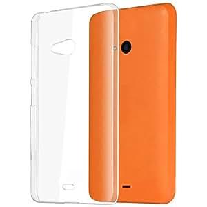 Vcare Shoppe Soft Transparent Cover for Microsoft Lumia 540