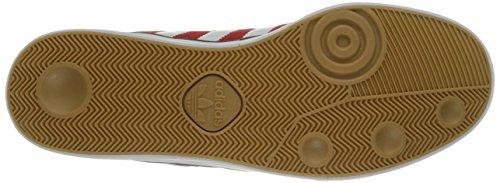 Adidas Performance Triade Skate scarpe, nero / bianco / gomma, 6,5 M Us Scarlet/White/Scarlet