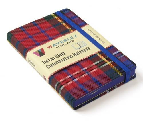 MacPherson Red: Waverley Genuine Tartan Cloth Commonplace No (Waverley Scotland Genuine Tartan Cloth Commonplace Notebooks/Stationery/Tartan/Plaid)