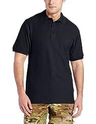 TRU-SPEC Men's 24-7 Classic Cotton Short Sleeve Polo Shirt, Navy, Medium