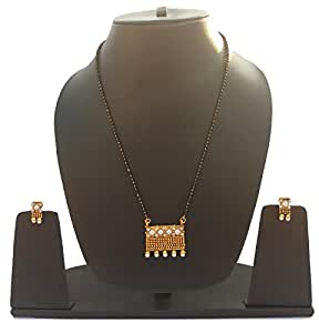 Navya Gold Plated Mangalsutra Set For Women