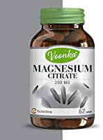 Voonka Magnesium Citrate 200mg 62 Tablet SKT:03/2022
