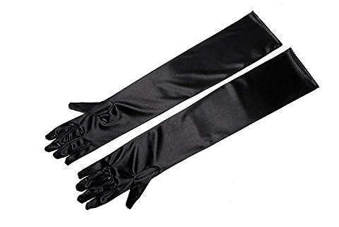 Audrey Hepburn Costumes - Long gants noir–Audrey Hepburn Breakfast At