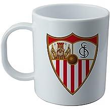 Taza y pegatina del Sevilla