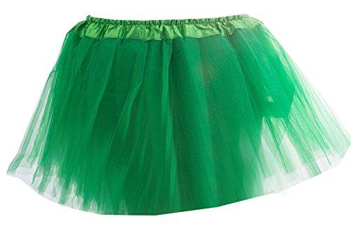Damen Tütü Tutu Minirock Petticoat Tanzkleid Ballettrock Pettiskirt Unterrock in verschiedenen Farben (Frauen Tutus)