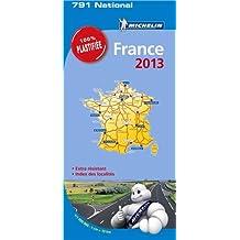 Carte France 2013 Michelin 100% Plastifiée