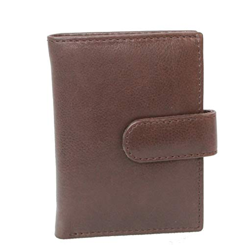 Eastern Counties Leather - Porte-cartes en cuir Ricky- Homme (Taille unique) (Marron)