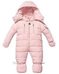 bb89b8fbecdd4 Zoerea Baby Girl Snowsuit Down Suit Down Coat Romper Winter Baby Clothing  for 0-18