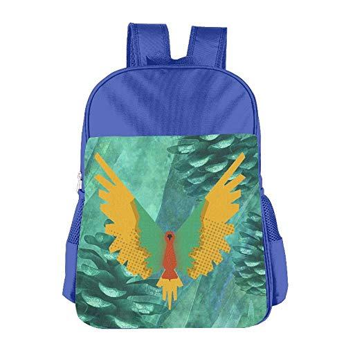 Maverick Logo Childrens School Backpack Carry Bag for Girls Boys -