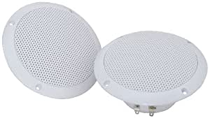 """Water Resistant Speakers, 16.5cm (6.5"""")- 100W max, 8 Ohms, White"""