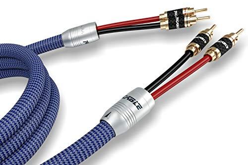 ba91a69f17a3a7 Ricable VS3 INVICTUS Speaker 2 x 3 mt Cavo di Potenza High-End Schermato per