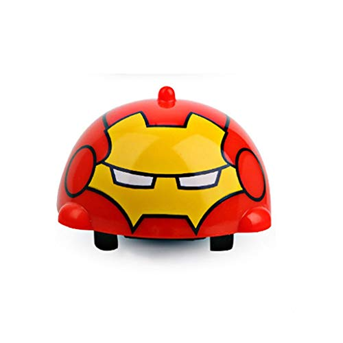 SSRS Avengers Toys Superhero Toys Gyro Kinder Gyro Toys Trägheit Auto Jungen Tasche Spielzeug Hulk Iron Man (Farbe : A) -