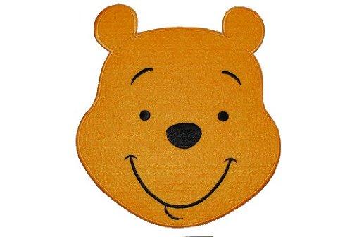 alles-meine.de GmbH XXL Winnie The Pooh 17,8 cm * 19,7 cm Aufnäher Applikation Bügelbild Patch Bär -