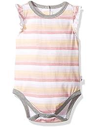 Burt's Bees Baby Baby Girls' Painted Stripe Organic Bodysuit