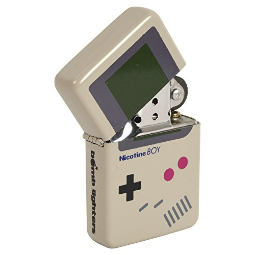 Bomb Lighters Nicotine Boy Feuerzeug im Gameboy-Stil