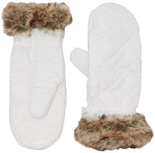 Black Crevice Damen Handschuhe, Weiß, S