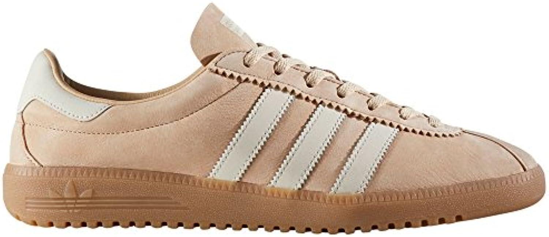 adidas Original Bermuda Beige  Rot BY9653  BY9654. Schuhe Herren. Sneaker