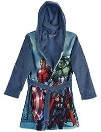 Marvel Avengers Jungen Bademantel Morgenmantel