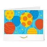 Amazon.de Gutschein zum Drucken (Geburtstagsballons)
