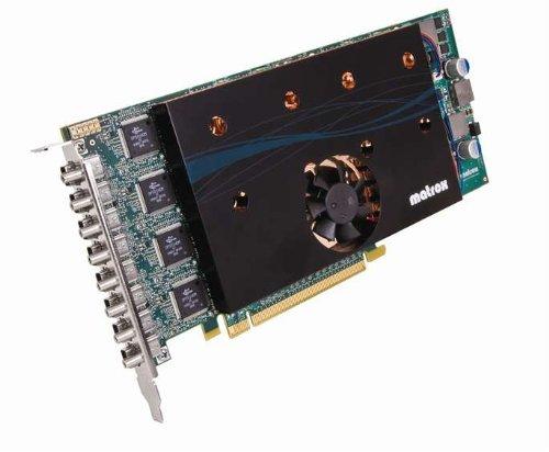 Matrox Computer-grafikkarten (Matrox M9188 Grafikkarte (PCI-e, 2GB, DDR2 Speicher, DVI))