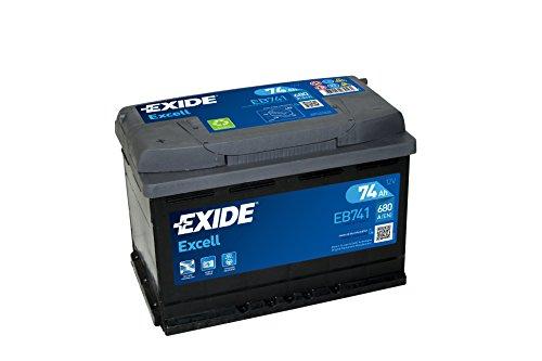 Preisvergleich Produktbild Exide EB741 EXCELL STARTERBATTERIE 12V 74AH 680A