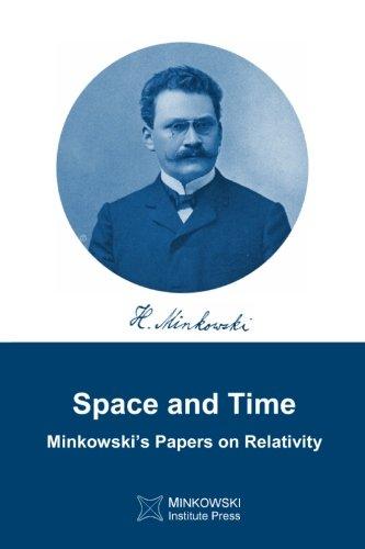 Space and Time: Minkowski's papers on relativity por Hermann Minkowski