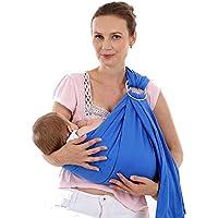 a40168d5040b WUYEA Couverture d allaitement Ajustable pour bébé avec bandoulière  Extensible Organique pour bébé, Nouveau