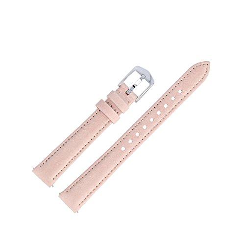 Fossil Uhrenarmband 14mm Leder Pink - ES-4151 | LB-ES4151
