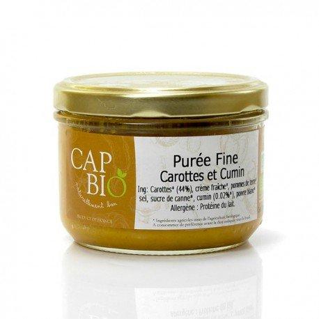 Purée Fine de Carotte et Cumin, 260 ml, CAP BIO