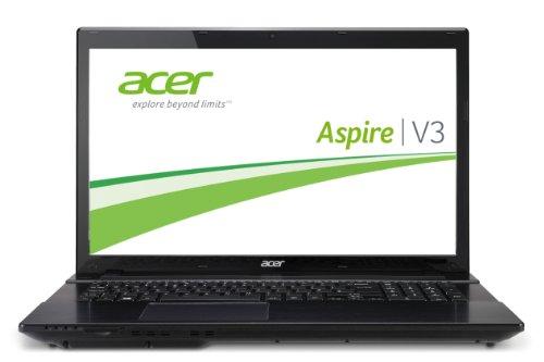 Acer Aspire V3-772G-747a8G75Makk 43,9 cm (17,3 Zoll) Notebook (Intel Core i7 4702MQ, 2,2GHz, 8GB RAM, 750GB HDD, NVIDIA GT 750M, DVD, Win 8) schwarz (Laptop 750 Nvidia)