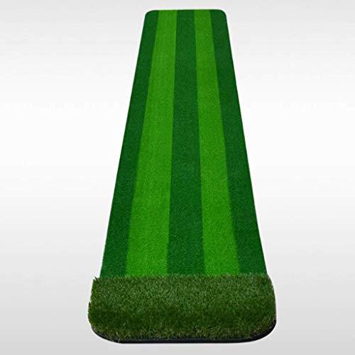YDXYZ Golf-Schlagmatte Ovale Form Outdoor Indoor Echte grasähnliche Performance-Golfmatte mit langlebigem, höhenverstellbarem T-Shirt Schwarz Grüner Schlag in Ihrem eigenen Zuhause -