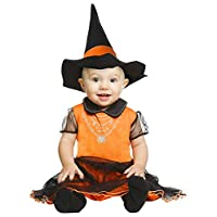 My Other Me - Witch Costume for Girl, Orange (viving Costumes) 0-6 meses orange