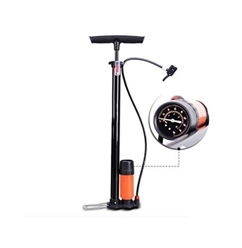 RUIX Hochdruck Standpumpe (Fahrrad-Bahn-Reifen-Inflator-Haushalts-Hochspannungselektrofahrzeug, Basketball, Motorrad, Fahrrad-Inflator