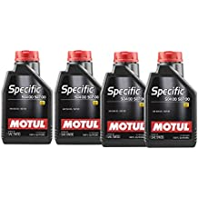 MOTUL Aceite Lubricante Specific VW 504.00-507.00 5w30, Pack 4 litros