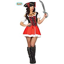 sexy Piratin Kostüm für Damen Gr. M/L