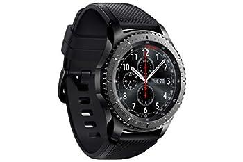 Samsung Sm-r760ndaadbt Gear S3 Frontier Smartwatch (3,3 Cm (1,3 Zoll) Display, Nfc, Bluetooth, Wlan, Tizen Os, Mit Silikon-armband) 3