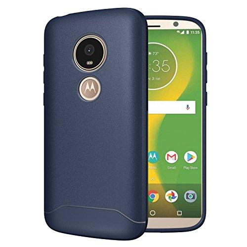TUDIA ARCH S TPU Schutzhülle Motorola Moto E5 Play Ultra Slim Hülle (Blau)