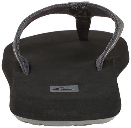 Quiksilver Herren Monkey Wrench Sandals Grey/Black/Grey