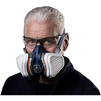 1416ce66f3aa9 GVS Filter Technology SPR496 Elipse A2P3 Dust and Organic Vapour Half Mask  Respirator