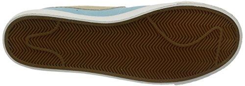 Nike Blazer Mid Prm Synthetik Turnschuhe Copa/Sand Dune-Sail