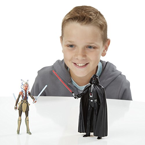 Star Wars Rebels 3.75-inch Space Mission Darth Vader And Ahsoka Tano Figure - 3