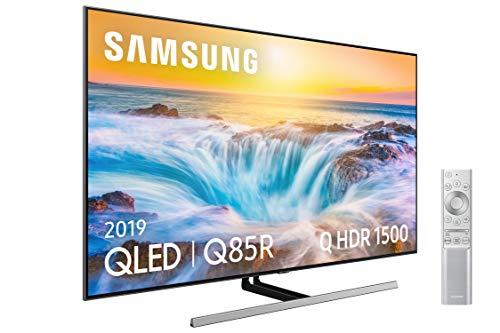 """Samsung QLED 4K 2019 55Q85R - Smart TV de 55"""" con Resolución 4K UHD, Direct Full Array Premium, Q HDR 1500, Inteligencia Artificial 4K, Premium One Remote, Apps exclusivas y Compatible con Alexa"""