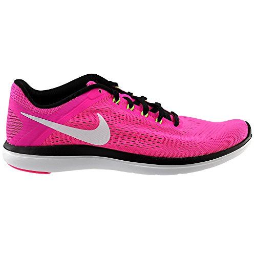 Nike Womens Flex 2016 RN Running Trainers 830751 Sneakers Shoes (uk 6 us 8.5 eu 40, pink blast white black 600)